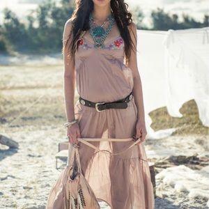 Spell & The Gypsy Lost in Savannah Slip Dress RARE